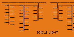 LED luce ghiacciolo KARNAR INTERNATIONAL GROUP LTD