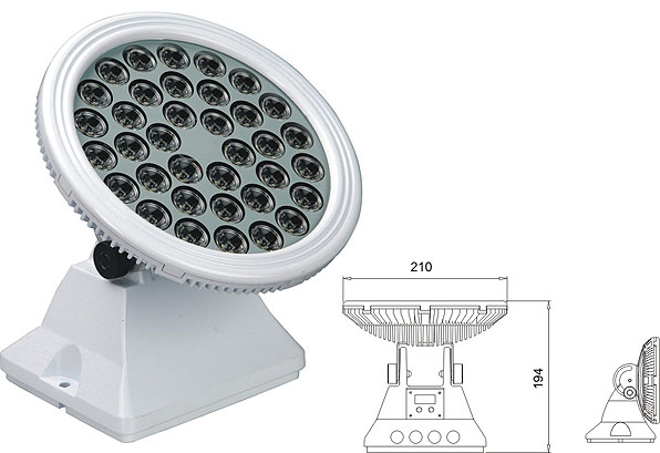 Guangdong ledde fabriken,LED-väggbrickor,25W 48W Square LED-översvämning 2, LWW-6-36P, KARNAR INTERNATIONAL GROUP LTD