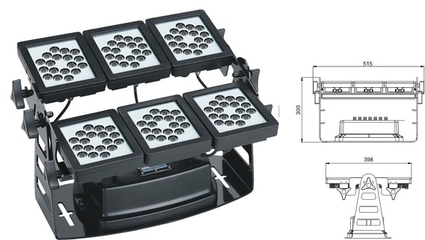 Guangdong ledde fabriken,ledde arbetsljus,220W LED-väggbricka 1, LWW-9-108P, KARNAR INTERNATIONAL GROUP LTD