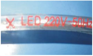 Guangdong ledde fabriken,ledde tejpen,12V DC SMD 5050 LED ROPE LIGHT 11, 2-i-1, KARNAR INTERNATIONAL GROUP LTD