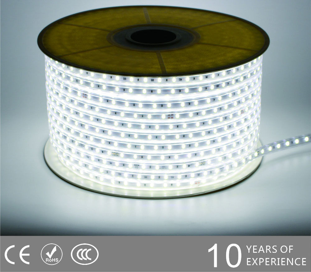 Guangdong ledde fabriken,ledad remsa,240V AC Ingen Wire SMD 5730 LED ROPE LIGHT 2, 5730-smd-Nonwire-Led-Light-Strip-6500k, KARNAR INTERNATIONAL GROUP LTD