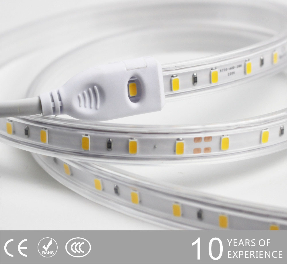 Guangdong ledde fabriken,ledde tejpen,110V AC Ingen Wire SMD 5730 Led Strip Ljus 4, s2, KARNAR INTERNATIONAL GROUP LTD