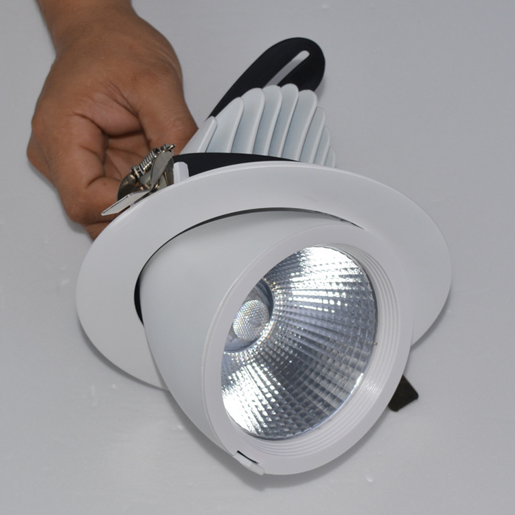Guangdong ledde fabriken,nedljus,35w elefantstativ infälld Led downlight 2, e_1, KARNAR INTERNATIONAL GROUP LTD