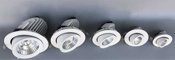 Guangdong ledde fabriken,nedljus,50w elefantstativ infälld Led downlight 1, ee, KARNAR INTERNATIONAL GROUP LTD
