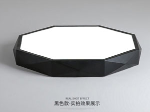 Guangdong ledde fabriken,LED-projekt,24W kvadrat ledd taklampa 3, blank, KARNAR INTERNATIONAL GROUP LTD