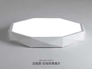 Guangdong ledde fabriken,LED-projekt,24W kvadrat ledd taklampa 6, white, KARNAR INTERNATIONAL GROUP LTD