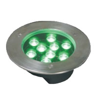 Guangdong ledde fabriken,LED underjordisk ljus,3W cirkulära begravda lampor 4, 9x1W-160.60, KARNAR INTERNATIONAL GROUP LTD
