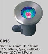 LED POOL LIGHT KARNAR INTERNATIONAL GROUP LTD